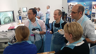 First UK training days for Ovesco Full Thickness Resection Device (FTRD)